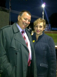 Phil Bateman and Rita Potter, along with Wednesfield North Labour Party says 'Thank You' for voting Labour.