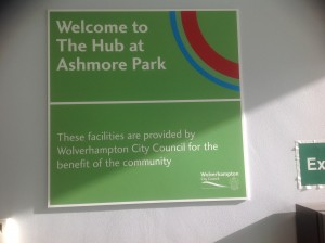 Welcome Hub at Ashmore Park