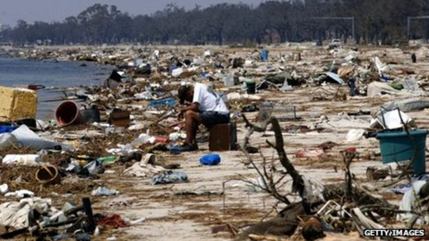 Environmental impacts of hurricane katrina