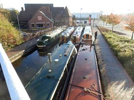Canal Boats Visiting Wednesfield
