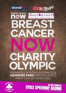BCN Flyer Wednesfield aces Charity Race.