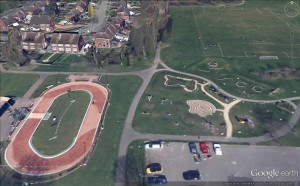 Google earth The Ashmore Park
