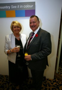 IMG_4410 mary & Phil attending Be Active Awards 2015