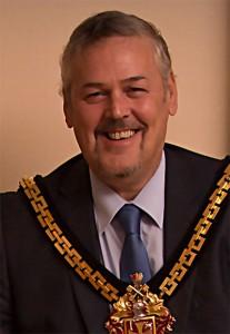 mayor Ian Brookfield