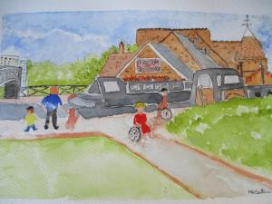 Canal Festival bt Melvyn Salter Community Artist. August2016
