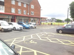 IMG_8478 Ashmore Shops Disabled Parking Bays