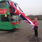 photo Emma Reynolds MP Unveils bus!