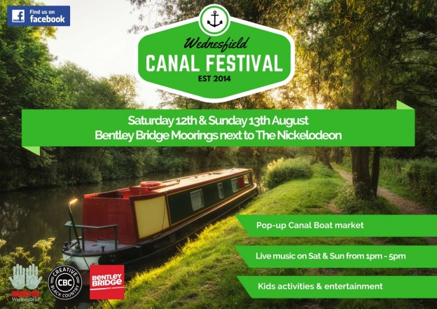 2017 Wednesfield Canal Festival