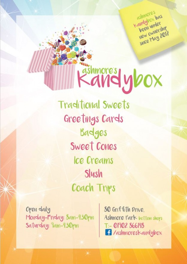 Flyer A5 July 2017 Kandy Box
