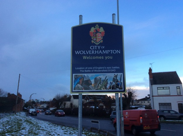 Wednesfield Road Signs
