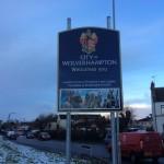 Wednesfield Road Signs