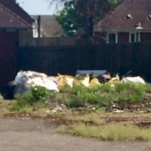 Fly Tipping In Baylis Avenue