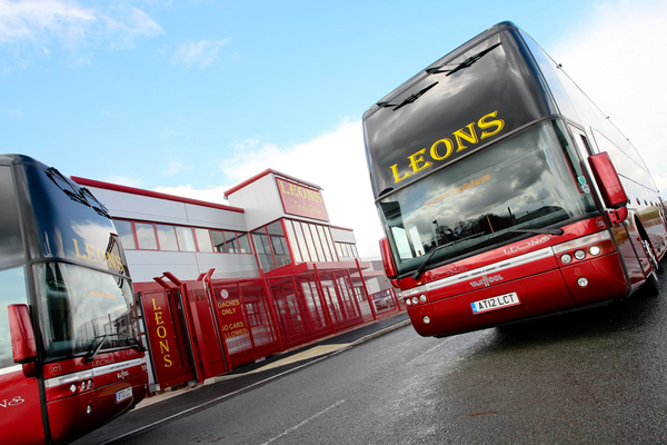 Photography of Leons  Holidays new headquarters and coaches in Stafford. Picture by Shaun Fellows / Shine Pix Ltd