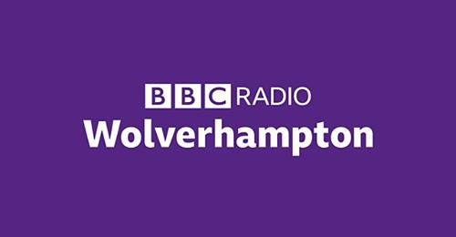 New  BBC Radio Wolverhampton -On Air Today!