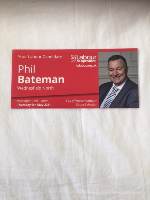 Introducing Phil Bateman Labour and Co-operative Candidate.